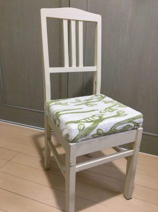 古くなったピアノの椅子をリメイク♪簡単DIYで使えなくなったピアノの椅子を可愛くする方法、作り方。