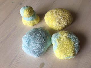 プチプチ楽しい♪【ビーズスライムの作り方】ホウ砂,水のり,ビーズで海外で人気のFloam(フローム)ビーズ粘土を簡単に手作りする方法♪ホウ砂なしの作り方も♪