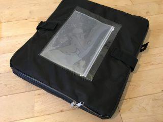 折り畳める宅配ボックスのレビューと使い方。中の構造はどうなってる??使いたい時だけ設置出来、折りたためて便利。